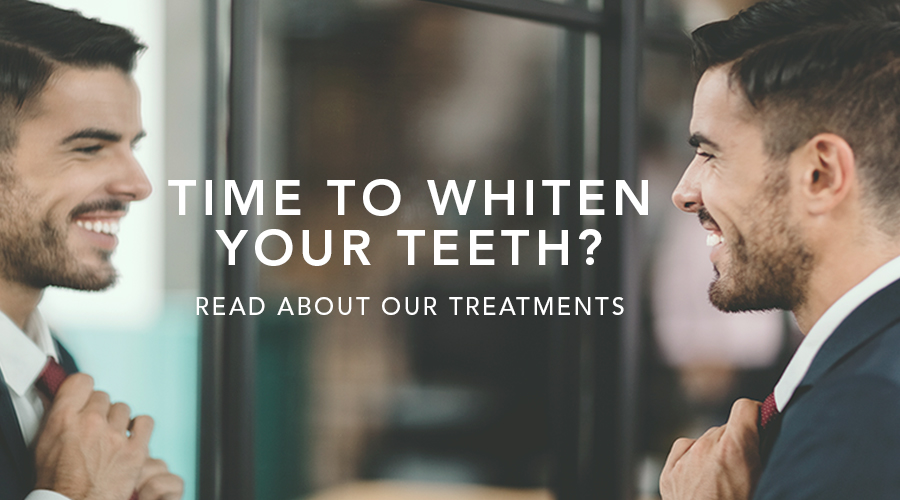 Teeth Whitening - Read about our various treatments