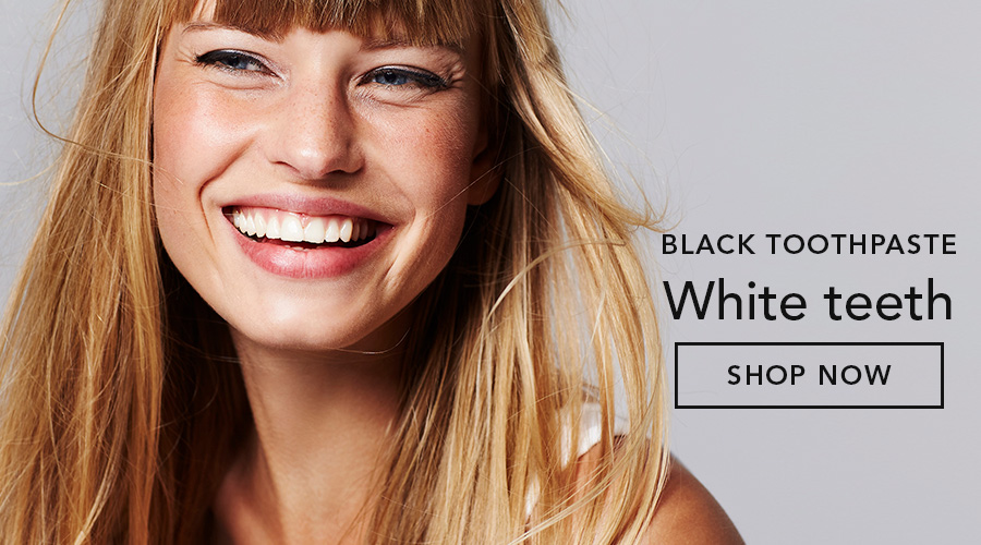HiWhite Charcoal - black toothpaste, whiter teeth!