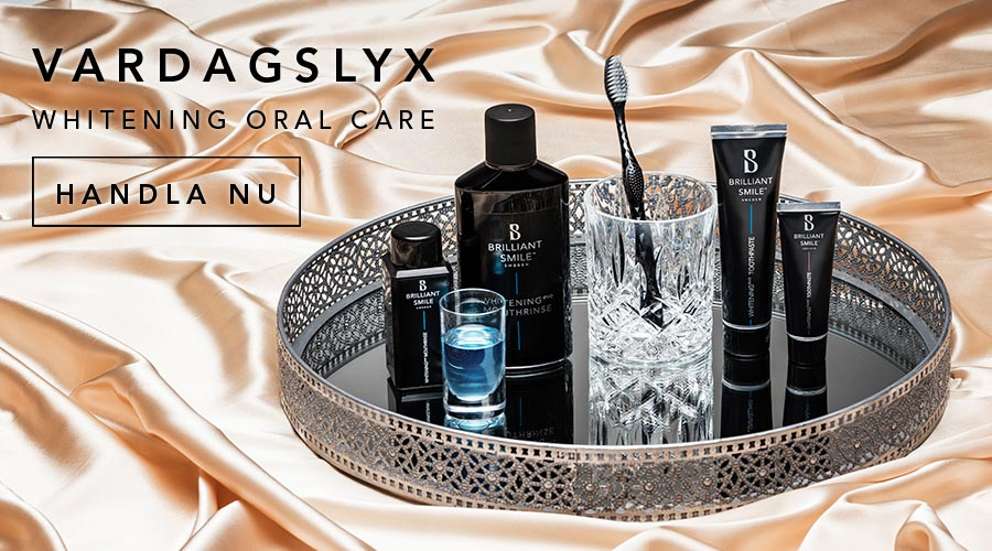 Vardagslyx med Whitening Oral Care